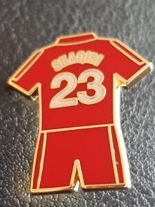 buy popular 22a18 bdbc0 Details about Liverpool Player Badge - Xherdan SHAQIRI No.23 Home Kit