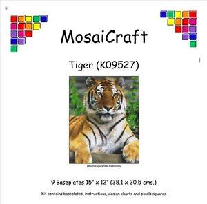 MosaiCraft-Pixel-Craft-Mosaic-Art-Kit-039-Tiger-039-Pixelhobby