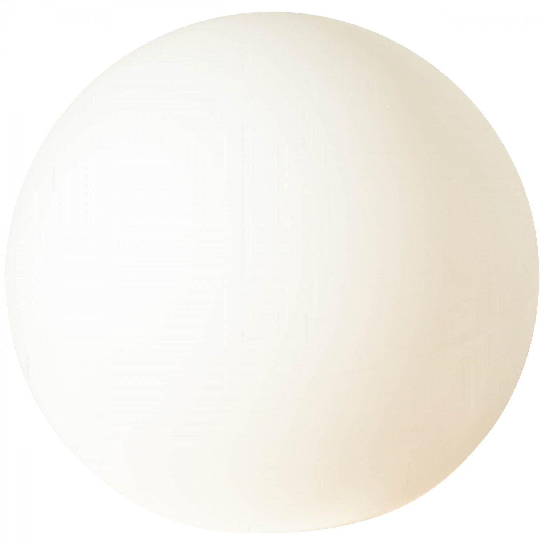 BRILLIANT GARDEN Lichtkugel Ø 80 cm Kunststoff Weiß