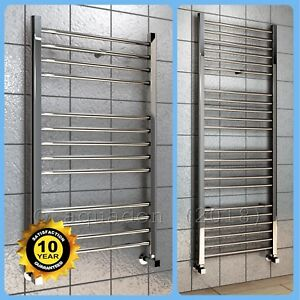 Bathroom-Heated-Towel-Radiator-Chrome-Straight-Ladder-Rail-Rad-ALL-SIZES