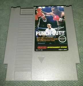 Mike-Tyson-039-s-Punch-Out-Nintendo-NES-Authentic-CARTRIDGE-ONLY