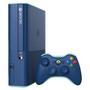 Details about Microsoft Xbox 360 E - 250GB - Blue Console