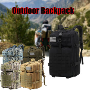 55L-Military-Tactical-Backpack-Rucksack-Bag-Camping-Outdoor-Sports-Hiking-Travel