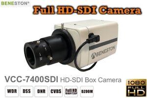 HD-SDI 1080P Full HD Box Camera /WDR/DNR/Digital Zoom/CCTV Security