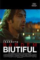 Biutiful Original 27x40 Movie Poster Javier Bardem New/rolled