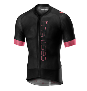 Castelli Cycling Climber/'S 2.0 Jersey Full Zipp Light Black Large