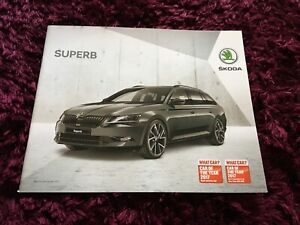 Skoda Superb Brochure 2018 - Nov 2017 UK Issue inc ...