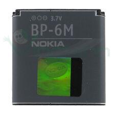 Batteria BP-6M originale NOKIA 1100mAh per 6288 N73 N77 N93 sostitutiva Bulk