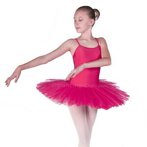 Lucy Fuschia Pink BALLET TUTU Dress Age 4-Adult 10-12 ...