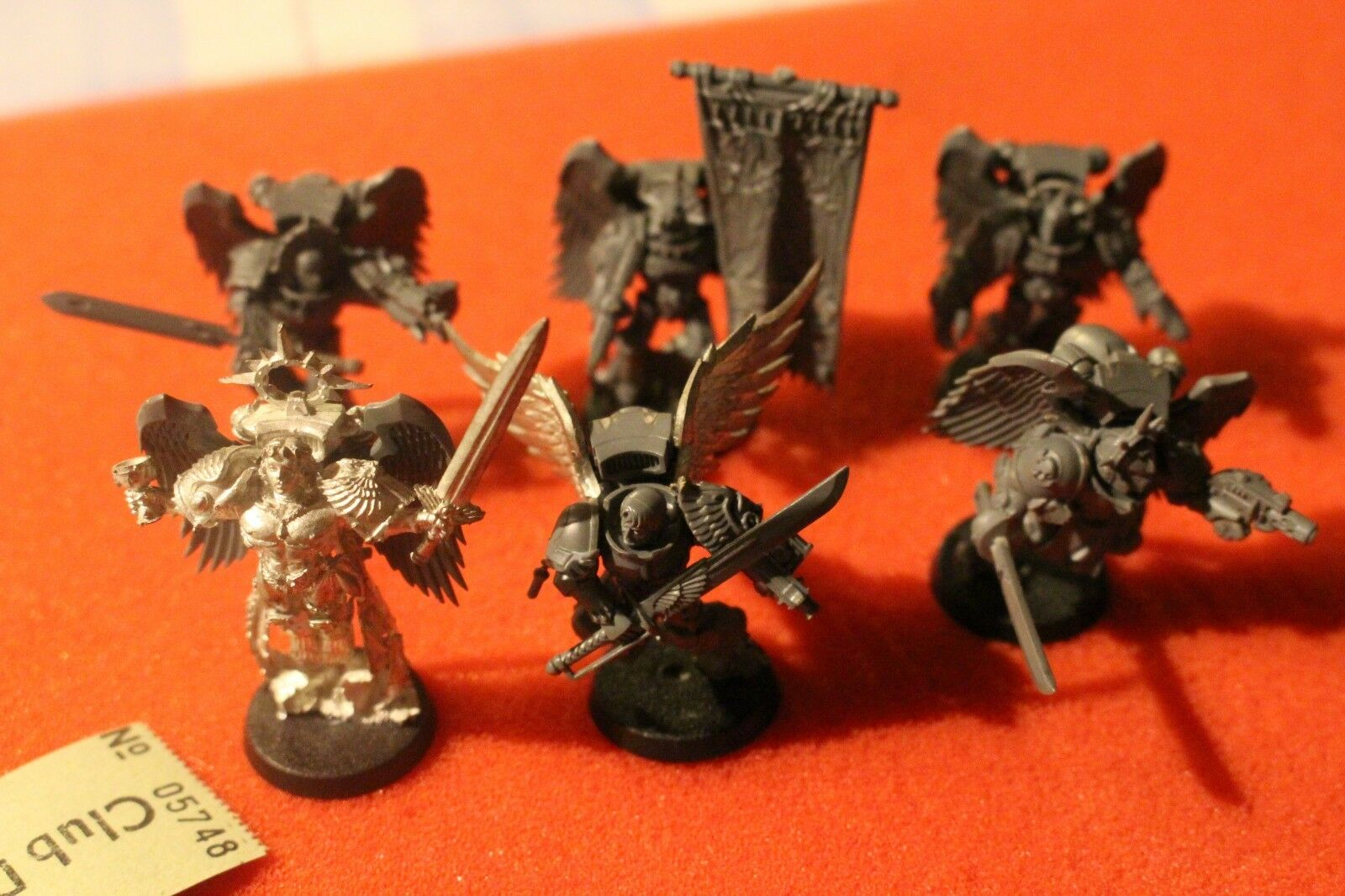 Games Workshop Warhammer 40k Blood Angels Sanguinor and Honour Guard Metal Squad