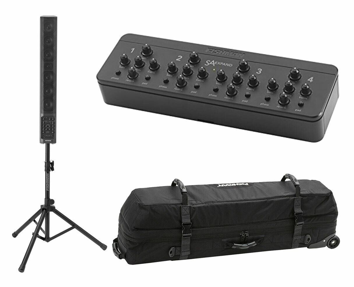 Fishman SA330x Performance Audio System + Fishman SA Expand + Deluxe Carry Bag. Buy it now for 979.90
