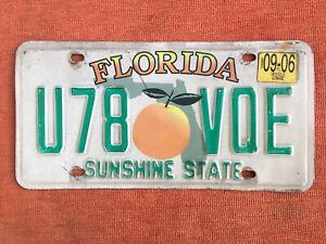🇺🇸  US Kennzeichen Nummernschild Licenseplate USA  FLORIDA  U78 VQE 🇺🇸