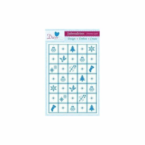 CRAFTERS COMPANION EMBOSSALICIOUS A4 EMBOSSING FOLDER MANY DESIGN CHOICES NEW