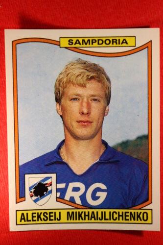 Panini Calciatori 1990//91 1990 1991 n 315 MIKHAIJLICHENKO SAMPDORIA NUOVA VELINA