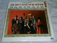 You Don't Have To Be Jewish LP Bob Booker George Foster Comedy Kapp Inner Sleeve