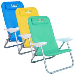 Phenomenal Details About Oztrail Newport Chair Recliner Beach Chair Picnic Camping Pool Camp Inzonedesignstudio Interior Chair Design Inzonedesignstudiocom