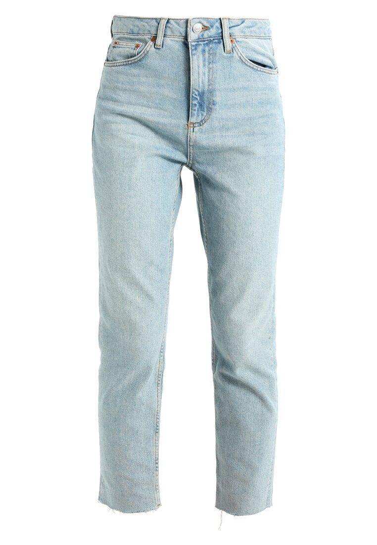 Topshop Jeans Relaxed Fit jeans da donna light light light blu taglia w30 l32 fcd6bd