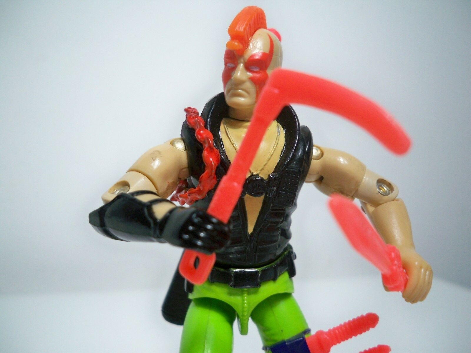 K178312 ZARTAN NINJA FORCE 1993 CUSTOM VERSION ENHANCED COMPLETE GI JOE COBRA