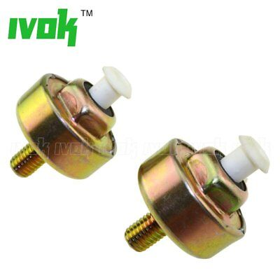 2X Engine Knock Detonation Sensor For Chevy GMC Silverado Camaro Isuzu 5.3L 6.0L