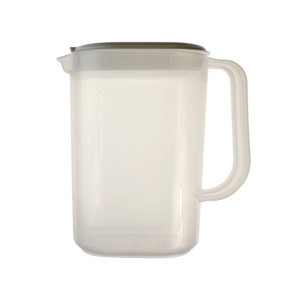 Whitefurze Fridge Door Jug Plastic 1.5 Litre Juice Milk Water Cool Drink NEW
