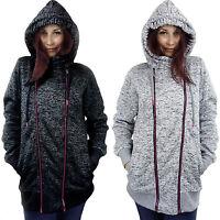 Women Hooded Sweatshirt Ladies Hoodie Sweater Top Jumper Outwear Size 10 12 14
