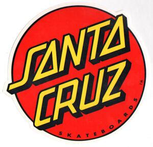 Santa-Cruz-Classic-Dot-Skateboard-Sticker-surfing-skating-sk8-skate-large