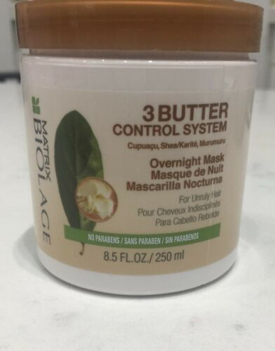 Matrix Biolage 3 Butter Control System Overnight Mask 8.5oz FALL SALE!