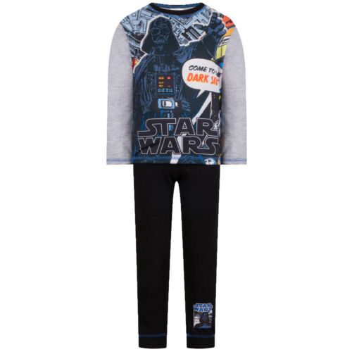 Star Wars Darth Vader Yoda Luke Skywalker Official Gift Kids Boys Pyjamas
