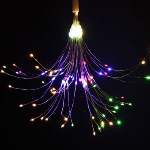 120//180LED Firework Fairy Lights Christmas Indoor Outdoor Battery Lighting Decor