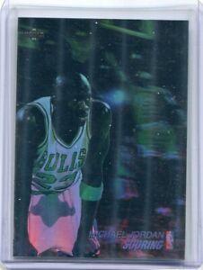 1991 Upper Deck Michael Jordan Scoring #AW1 3D Basketball Card Holo Bulls