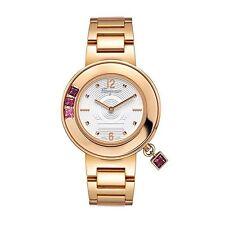 Ferragamo Women's F64SBQ5201 S080 Gancino Sparkling Gold IP Steel Watch