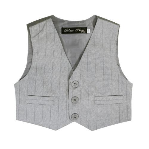 NEW Boys Formal Wear Sold Separate Jacket or Vest or Pants 000–16 LIGHT GREY