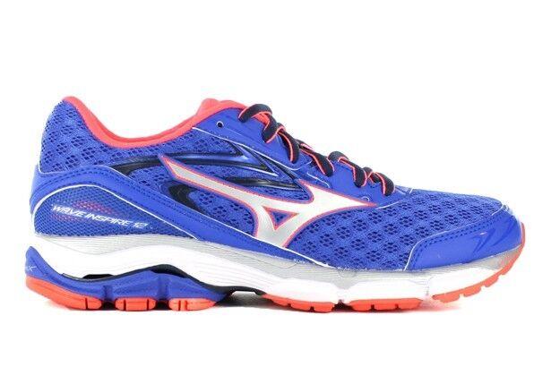 Mizuno Wave Inspire 12 Donna Crossrunning Shoe (B) 08 Dazzling Coral)