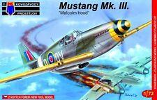 Kovozavody Prostejov 1/72 North-American Mustang Mk.III Malcolm hood, RAF # 7232