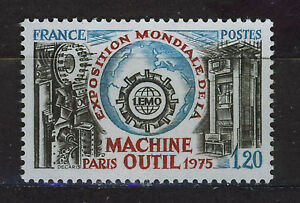 FRANCIA-FRANCE-1975-MNH-SC-1433-Machine-tool-exhibition