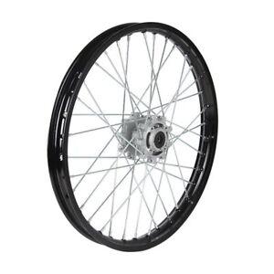 HMParts Pit Bike Dirt Bike Moto Cross ALU-Felge eloxiert 19 Zoll vorne Blau