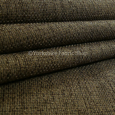10 Metres Of Heavy Woven Texture Hopsack Fabric Upholstery White Silver Fabrics