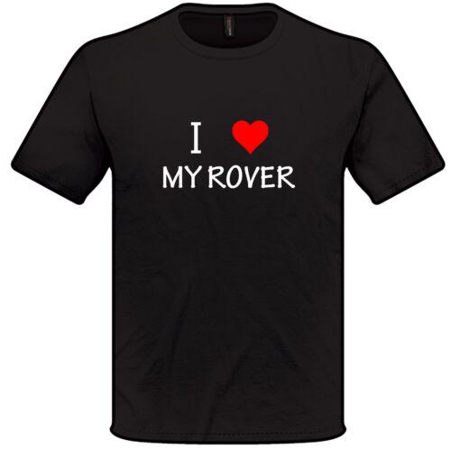I love coeur mon rover t shirt s-xxl homme femme voiture cadeau