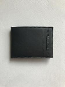 Rip-Curl-RFID-SLIM-WALLET-Mens-LEATHER-Wallet-New-BWUJI2-Black