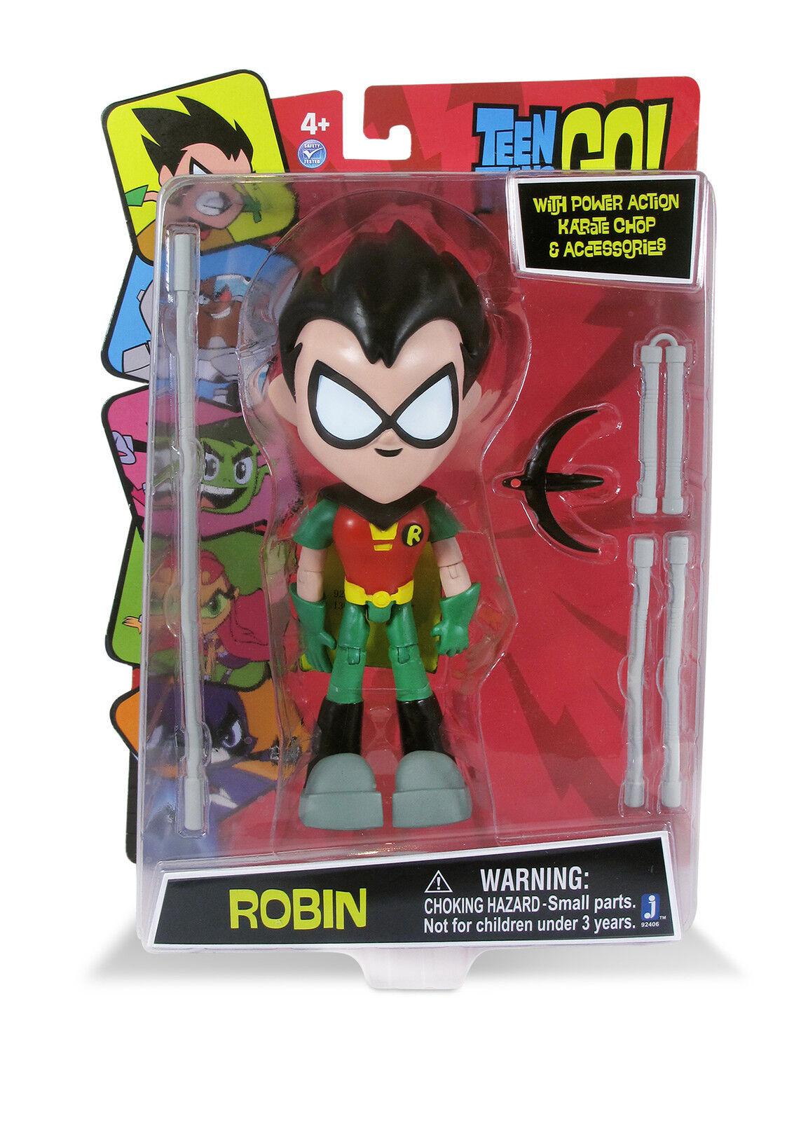 Big 8  (20cm) (20cm) (20cm) Teen Titan Robin Leader GO  Articulated Action Figure Case Of 4 9f716c