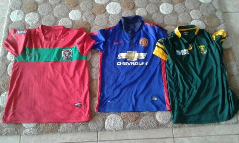 Sporting replica kit clothing tops for sale