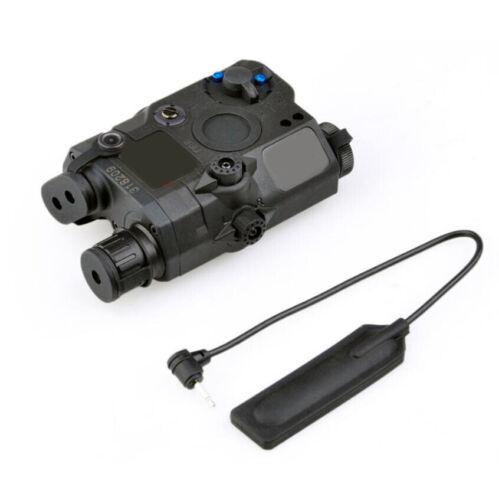 Laser rouge Airsoft avec IR Lentille UK FMA PEQ-15 upgrade version boîte DEL lumière blanche