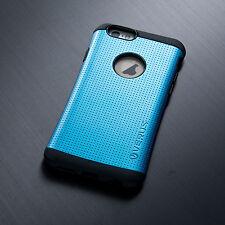 DUAL LAYER iPhone 5 6 Plus Case Drop Protection Grip Slim + Glass