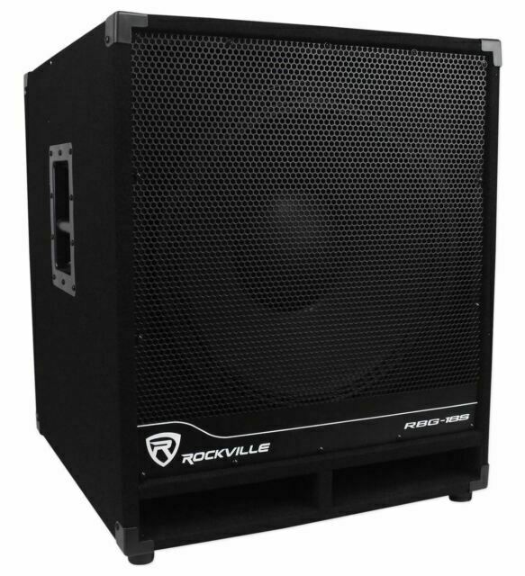 Rockville RBG18S 18 2000 Watt Subwoofer - Black - $220.00