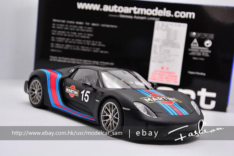 Autoart 1 18 Porsche 918 Spyder Weissach, paquete