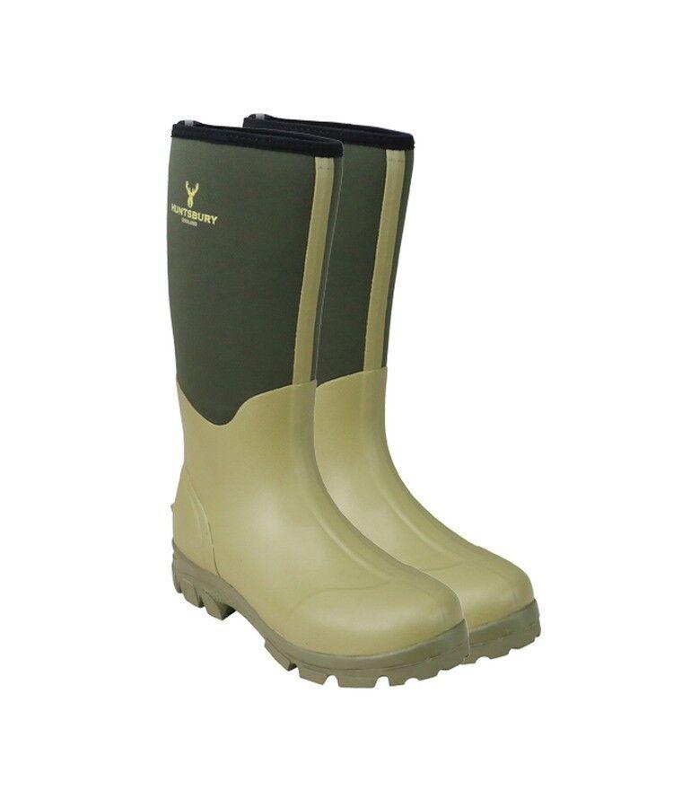Hengrave Neoprene Wellington Boot High Grip Rubber Sole Outdoor Walking Wellies