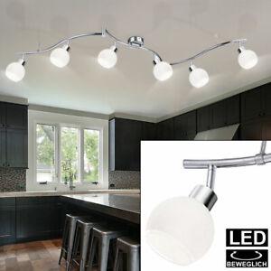 LED Decken Lampe Wohn Zimmer Beleuchtung Spot Strahler Balken Leuchte beweglich