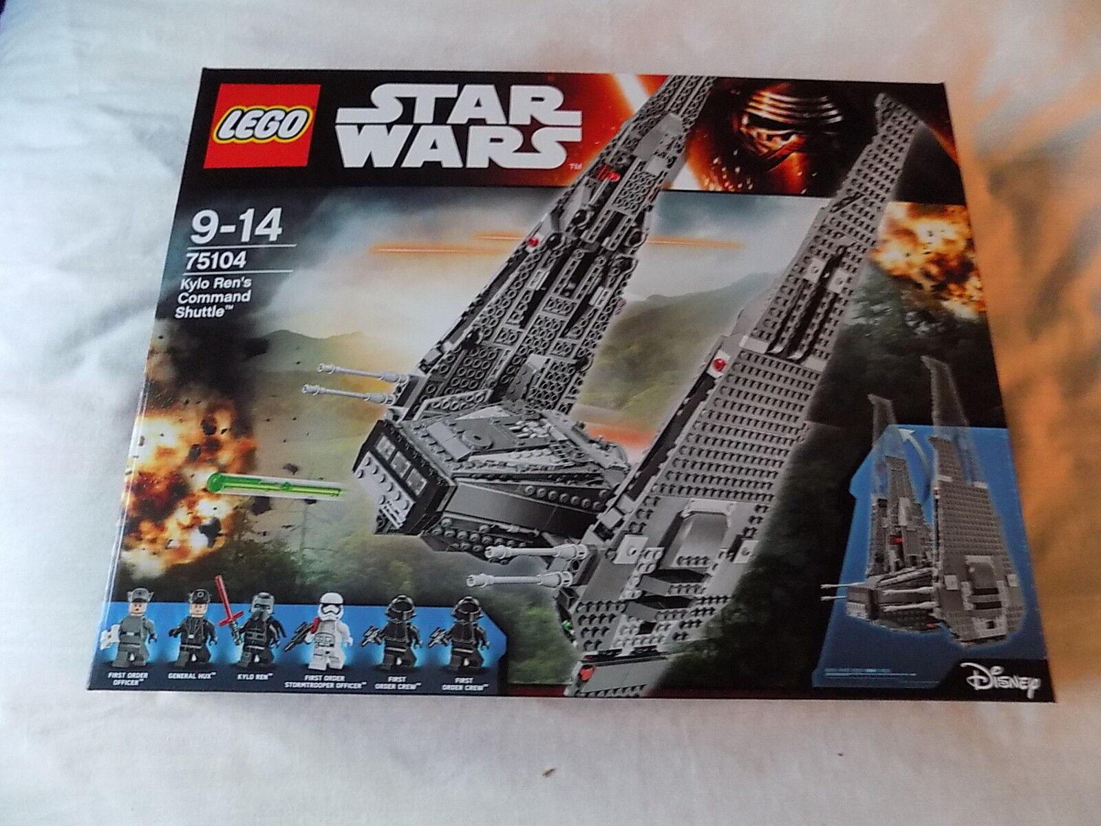 Lego Star Wars 75104 Kylo Ren's comando lanzadera