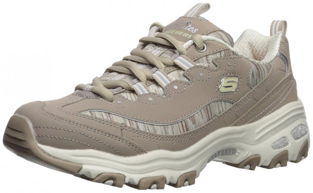 Skechers Sport Women's DLites Interlude Sneaker Comfort Casual Walking Work shoes