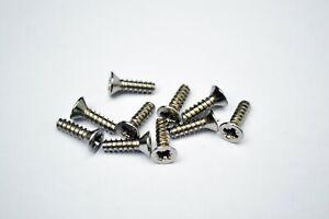 5.5mm x 32mm No 12 Pozi Countersunk Self Tapping Screws Zinc Plated DIN 7982 CZ